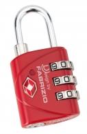 Fabrizio TSA-lukko, 00108, punainen