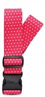 Fabrizio matkalaukkuremmi, pinkki sydän