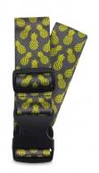Fabrizio kuviollinen matkalaukkuremmi, 00124, ananas lime