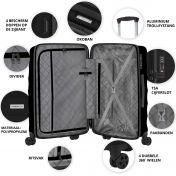 CarryOn Porter, suuri matkalaukku, Musta