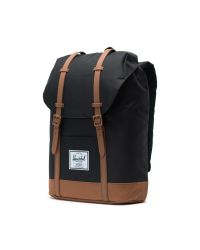 Herschel Retreat reppu, 10066-02462, black/saddle brown