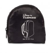 Fabritzio kokoontaitettava reppu, musta
