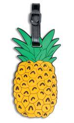 Fabrizio silikoninen nimilappu, ananas