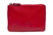 A. Eriksson RFID-nahkakukkaro, 110-282, punainen
