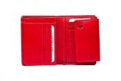 A. Eriksson naisten nahkainen RFID-lompakko, 111-636 punainen