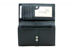A. Eriksson RFID-nahkalompakko 112-782, musta
