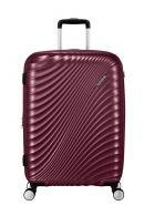 American Tourister Jetglam, keskisuuri matkalaukku, Metallic Grape Purple
