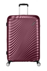 American Tourister Jetglam, suuri matkalaukku, Metallic Grape Purple