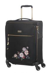 Samsonite Karissa Biz lentolaukku, Black flower emb.
