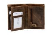 A. Eriksson RFID-nahkalompakko, 135-412, ruskea