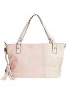 Suri Frey Buffy käsilaukku, roosa / off white
