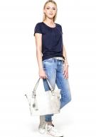 Suri Frey Buffy käsilaukku, off white / harmaa