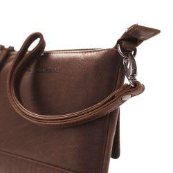 The Chesterfield Brand Sue, nahkainen olkalaukku, ruskea