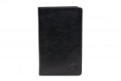 A. Eriksson miesten nahkainen RFID lompakko, 200-110, musta