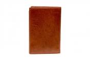 A. Eriksson nahkainen RFID-lompakko, 200-412, ruskea