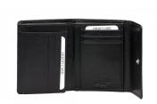 A. Eriksson naisten nahkainen RFID lompakko 201-636 musta