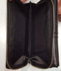 Nabo, naisten nahkainen RFID lompakko, NK-209, musta