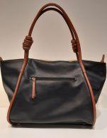 Ulrika shopperilaukku 35-2206-1 musta/ruskea