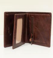A.Eriksson nahkainen RFID-lompakko, 830-410, ruskea