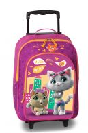 44 Cats lasten matkalaukku, fuksia