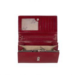 The Monte nahkainen RFID lompakko, 2162813, punainen