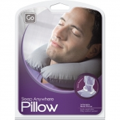 Go Travel Sleep Anywhere Pillow, valkoinen