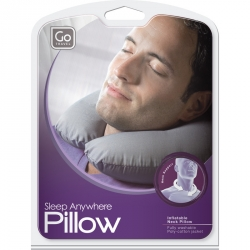 Go Travel Sleep Anywhere Pillow, niskatyyny,valkoinen