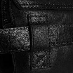 The Chesterfield Brand Resa, nahkainen vyölaukku, musta