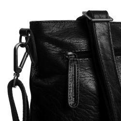 The Chesterfield Brand Resa nahkainen olkalaukku, musta