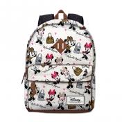 Disney Minnie reppu, valkoinen