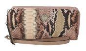 Ulrika lompakko, 35-8923-10, pinkki käärmekuosi