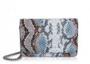 Inyati Lottie olkalaukku, 4026-6147, blue/snake