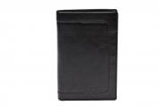 A.Eriksson nahkainen RFID lompakko, 423-125 musta