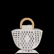 Inyati Trinni käsilaukku, 8014-207, coconut milk