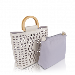Inyati Demi käsilaukku, 8015-207, coconut milk