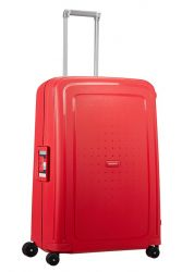 Samsonite S'Cure suuri matkalaukku, Capri Red Stripes