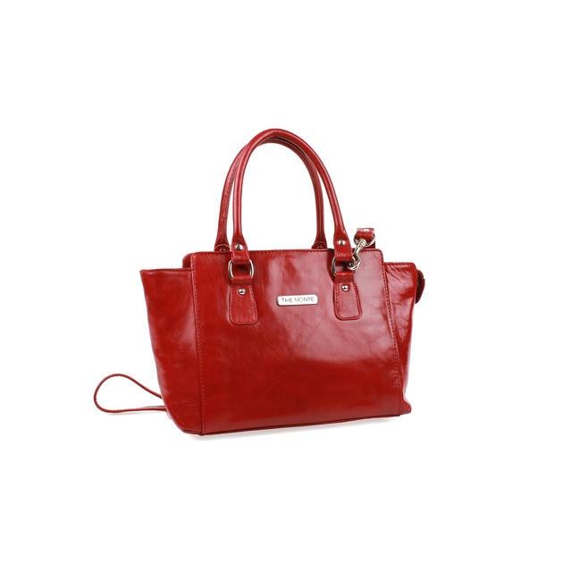 Punainen Käsilaukku : The monte nahkainen k?silaukku punainen bebag fi