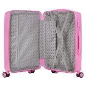 TravelZ BigBars keskisuuri matkalaukku, vaal.punainen
