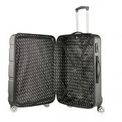 TravelZ Diamond lentolaukku, musta