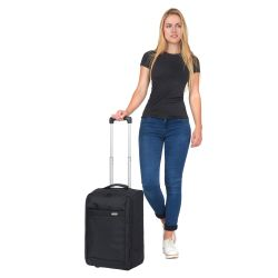 TravelZ, lentolaukku, Foldable black