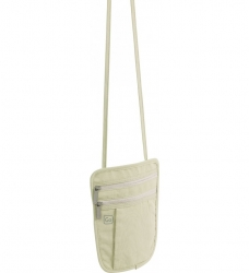 Go Travel Discreet Passport Pouch, vaalea beige