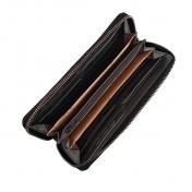 The Monte nahkainen lompakko, 62301, musta