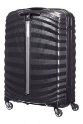 Samsonite Lite-shock, keskisuuri 69/25 matkalaukku, musta