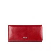 The Monte nahkainen lompakko, 62812, punainen