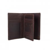 The Monte nahkainen RFID-lompakko, 62843, ruskea