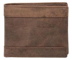 A. Eriksson nahkainen RFID-lompakko, 635-338, ruskea
