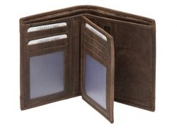 A. Eriksson Hunter RFID-nahkalompakko, 635-512, tummanruskea