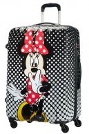 American Tourister Disney Legends, keskikokoinen matkalaukku, Minnie Mouse Polka Dot