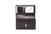 A. Eriksson naisten RFID-nahkalompakko, 716-690, musta