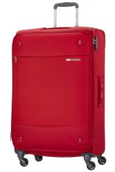 Samsonite Base Boost, suuri matkalaukku, Capri Red Stripes